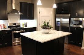 Two Colour Kitchen Cabinets Attractive What Color Flooring Go With Dark Kitchen Cabinets Wood