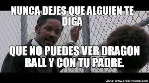 Memes Will Smith - meme will smith dragon ball memes en internet crear meme com
