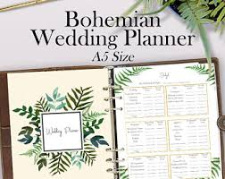 personalized wedding planner wedding organizer etsy
