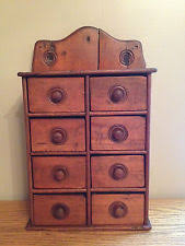 Antique Spice Rack Antique Spice Cabinet Ebay