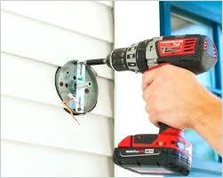 outdoor light mounting bracket outdoor light mounting plate securing exterior light mounting