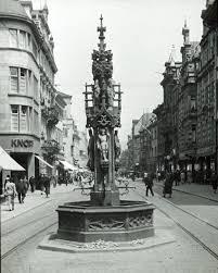 Mit Kauf Haus Fischbrunnen Freiburg 1937 Historisches Freiburg