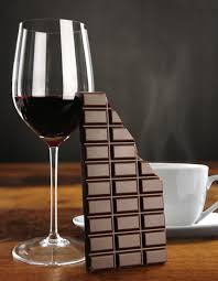 Wine Chocolate Coffee Chocolate And Wine Together In One Drink