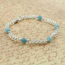 silver fine bracelet images Aquamarine fine silver bracelet sinclair jewelry jpg