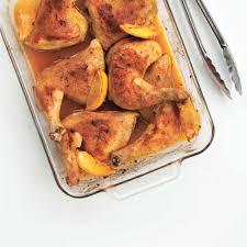 cuisiner des cuisse de poulet cuisses de poulet au citron et au paprika ricardo