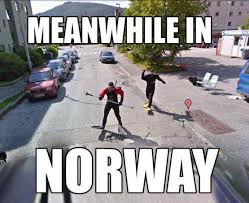 Norway Meme - meanwhile in norway viral viral videos