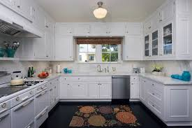 10 Beautiful Kitchens With Glass Cabinets 10 Beautiful Kitchens With Dark Hardwood Floors