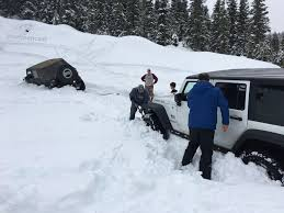jeep snow northwest jeepcast