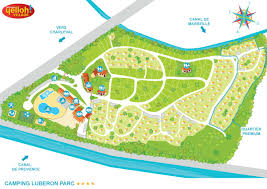 Provence Map Camping Luberon Parc Yelloh Village In Charleval En Provence