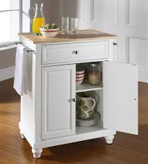 matchless monarch kitchen island white with wooden countertops and