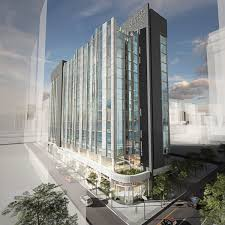 why losing little pete s diner is good for philadelphia the new hyatt centric will replace a parking garage on a long narrow site at 17th and chancellor streets in center city das