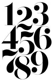 25 unique number fonts ideas on pinterest chalkboard numbers