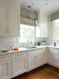 lovely design ideas for kitchen window treatments with pale green
