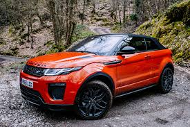 land rover defender convertible test drive the 2017 range rover evoque convertible cool hunting