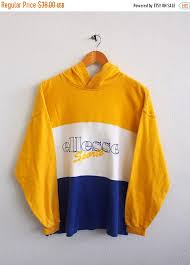 sale 25 ellesse sports hoodie sweater women small vintage 90 u0027s