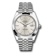 silver rolex bracelet images Rolex oyster perpetual datejust 41 watch stainless steel jubilee jpg