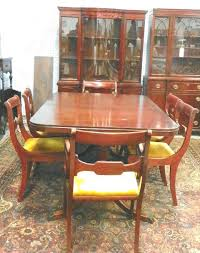 mahogany dining room set drexel dining room table mitventures co