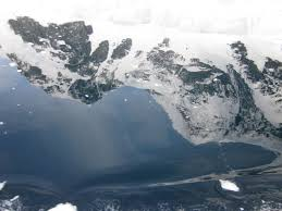 antarctica antarctica the water looks like black oil but is the