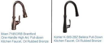moen bronze kitchen faucet rubbed bronze kitchen faucet