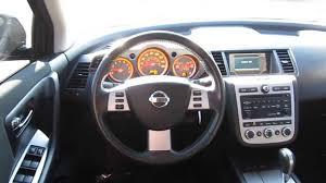 nissan crosscabriolet black 2006 nissan murano black stock b2297 interior youtube