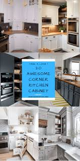 how to clean corners of cabinets 20 best ideas for corner kitchen cabinet to help you