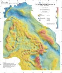Italy On Map Gravimetric Map Of Italy On A Scale Of 1 1 250 000 U2014 English