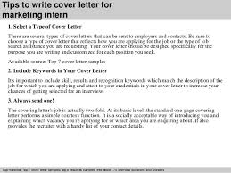 cover letters for internships write writing a cover letter for