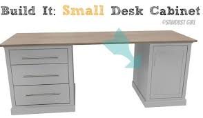 How To Build A Small Desk Small Desk Cabinet Avenue Collection Sawdust