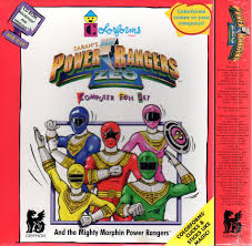 colorforms power rangers zeo ages 3 10 cd 1996 win mac