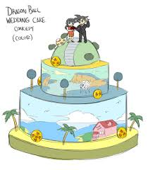 dragon ball themed wedding cakes u2022 kanzenshuu