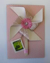 mother u0027s day card ideas using pinwheels rasberry