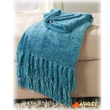 Green Chenille Sofa Grafton Turquoise Chenille Sofa Throw Blanket By Ashley Furn