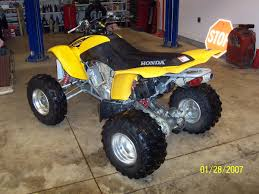 4 wheeler honda trx 400 ex sport saturn ion redline forums