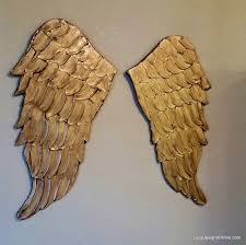 Angel Wing Wall Decor Angel Wing Wall Art Carved Wood Look Lucy Designs