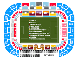 Map Showing New York by Seating Map New York Red Bulls