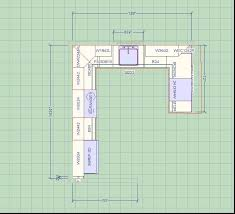 Brilliant Kitchen Design Layout Ideas With Goodly Layouts Plans L - Designing kitchen cabinet layout
