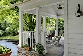 porch ideas exterior design concrete ramp and concrete stairs for small front
