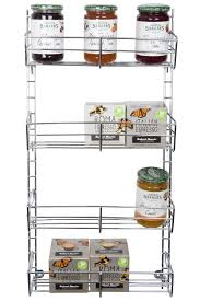 Linus Spice Rack Spice Rack 4 Tier Adjustable Chrome From Storage Box