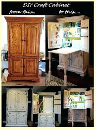used sewing machine cabinet craft storage armoire storage cabinet craft cabinet from a used
