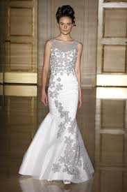 wedding dresses ta fall 2013 bridal douglas hannant takes floral embroidery to the