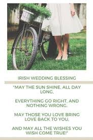 wedding wishes as gaeilge wedding blessing infographic by american