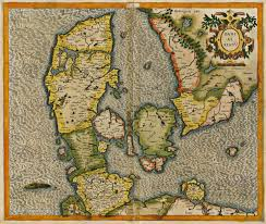 Map Of Denmark Old Map Of Denmark 1595 3500 2958 Mapporn