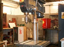 clarke pillar drill cdp451f on auction now at apex auctions
