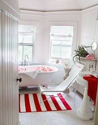 New Orleans Style Bathroom Red And White Bathroom Bathroom Design Ideas 43 Calm And Relaxing