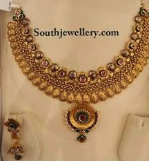 beautiful necklace designs images Beautiful antique necklace jewellery designs jpg