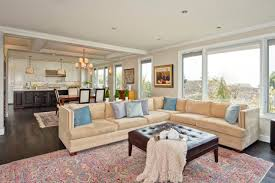 living room and kitchen open floor plan open concept living room furniture placement kitchen and living