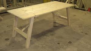 wooden trestle table legs dining trestle table pack of 5 the wooden workshop oakford devon