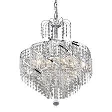 Elegant Crystal Chandelier 12 Inspirations Of Waterfall Crystal Chandelier