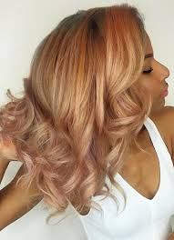 blonde hair with mocha lowlights 65 rose gold hair color ideas for 2017 rose gold hair tips