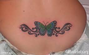 lower back butterfly free lower back designs